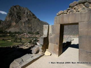 Exploring the archaeological zone of Ollantaytambo