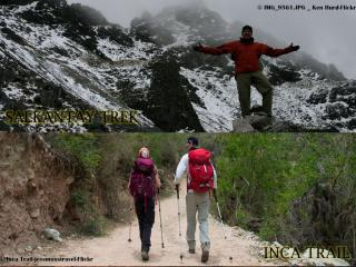 Salkantay trek vs Inca trail