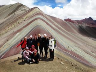 tips to trekking Rainbow Mountain