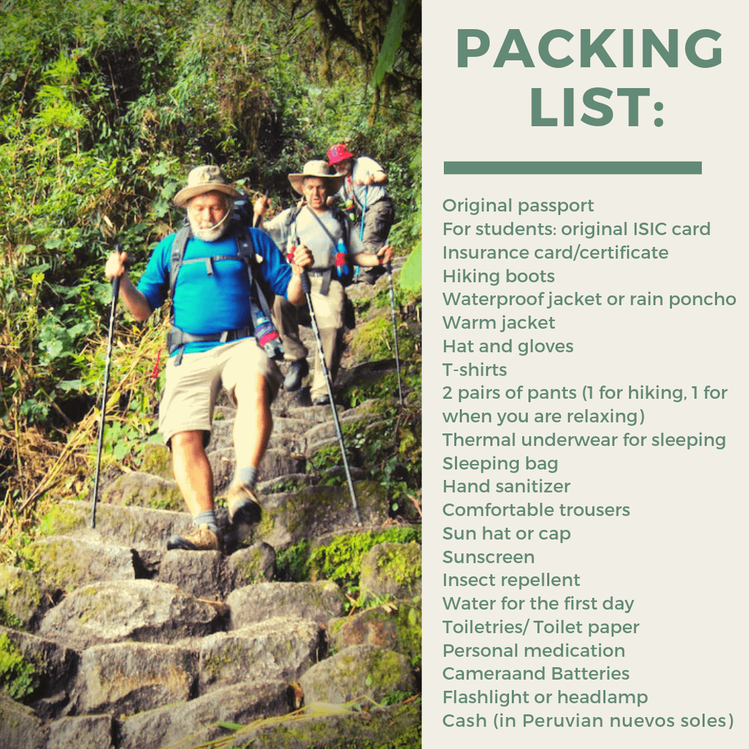 packing_list_cheap_inca_trail_trek