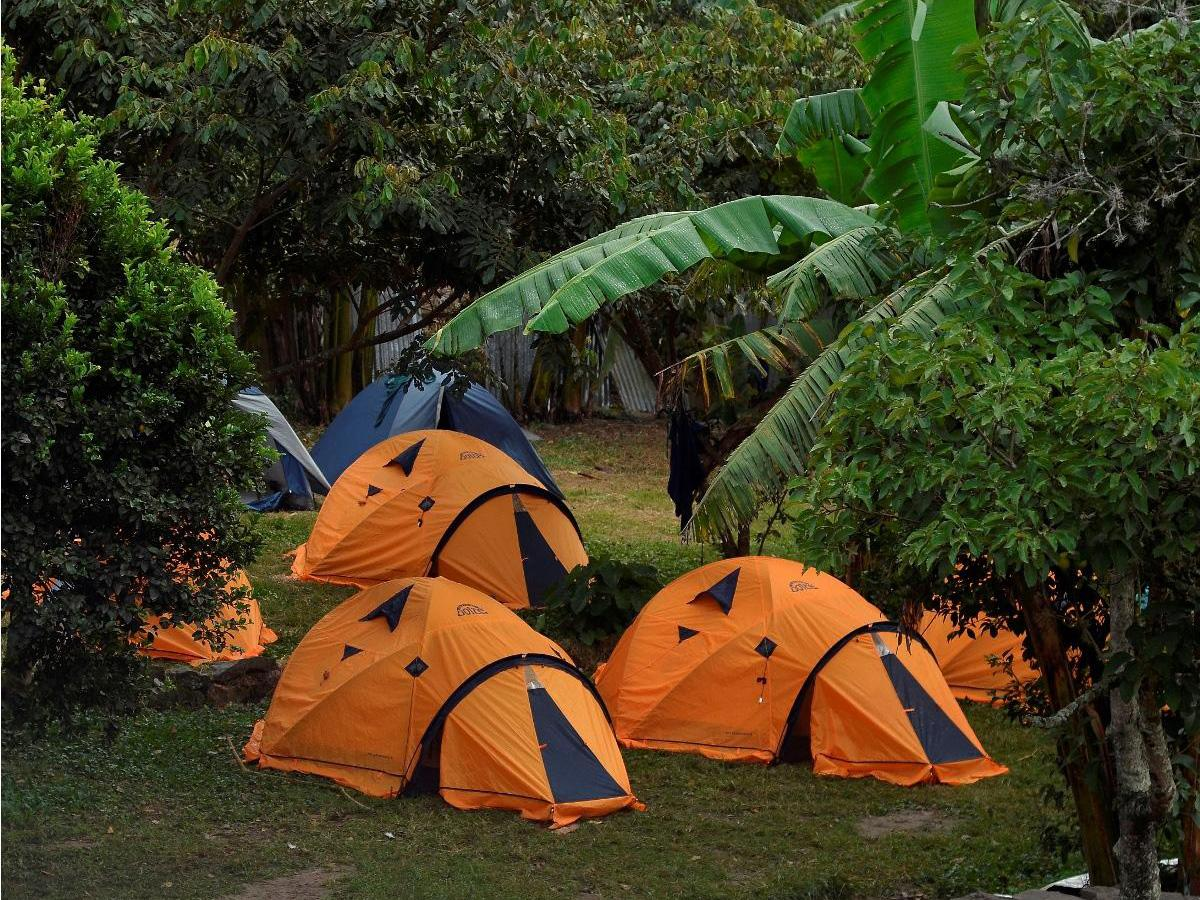 Camping Equipment Included