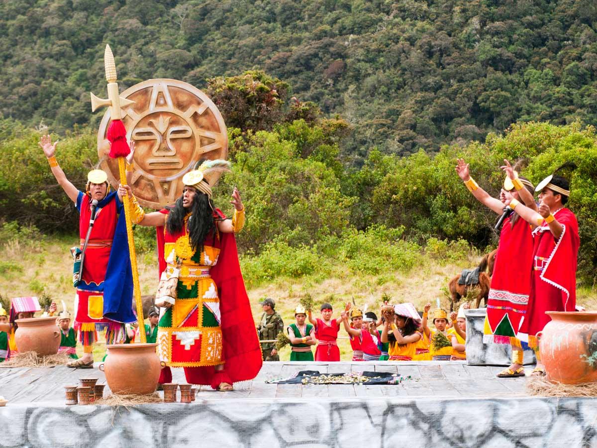 Inti Raymi Vilcabamba