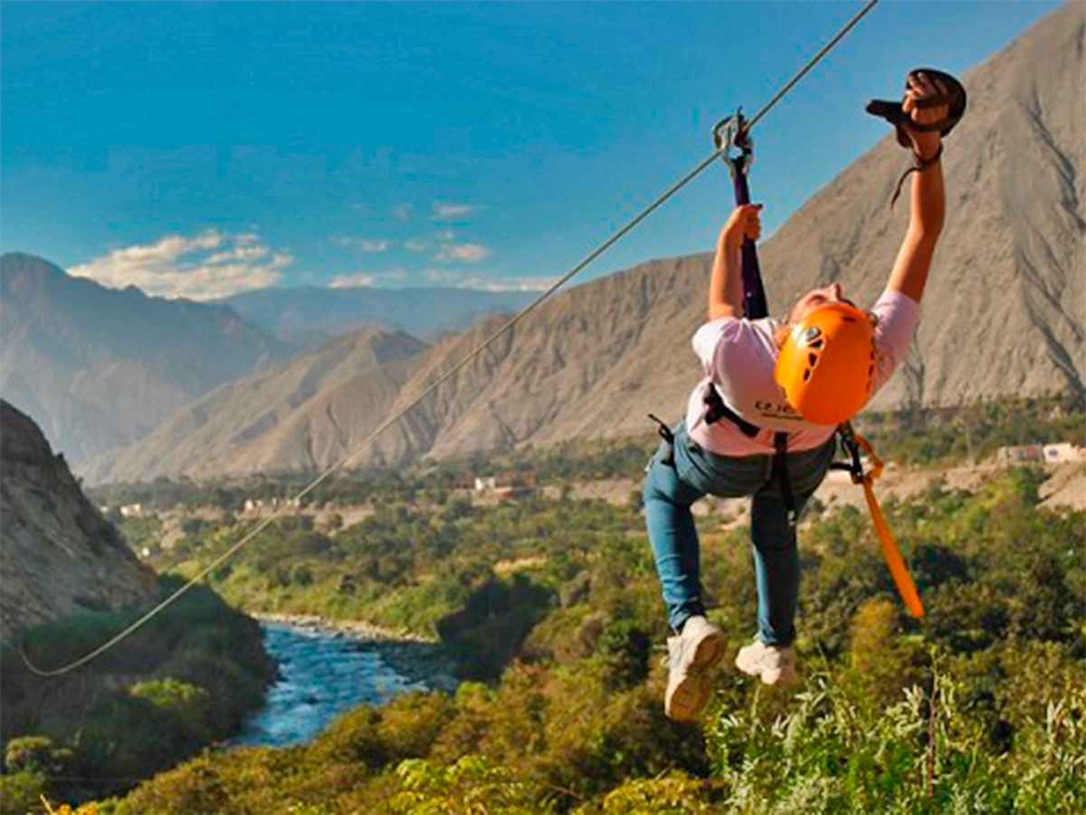 Zip Line in Cusco